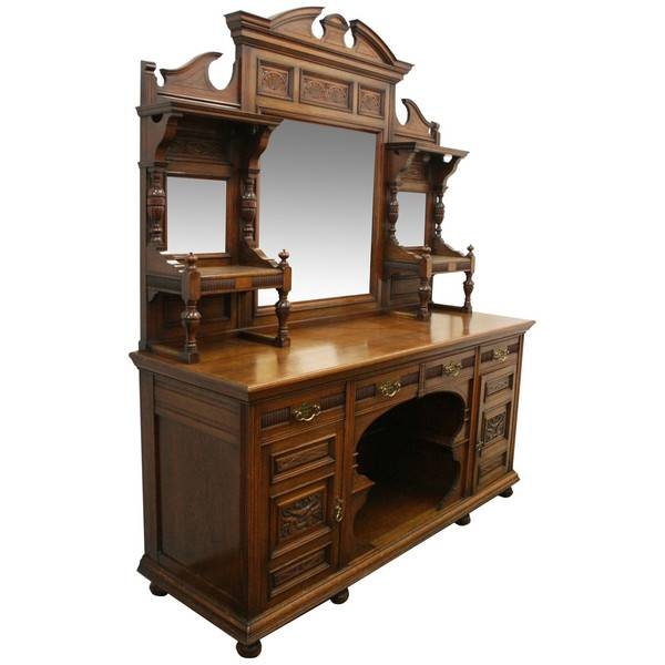Antique Oak Sideboards – The Uk's Premier Antiques Portal – Online Within Antique Oak Mirrors (#9 of 20)