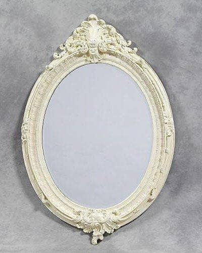 Antique Oval Mirror – Interior4You Throughout Antique White Oval Mirrors (View 11 of 20)