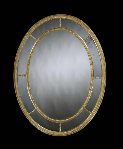 Antique Oval Mirrors – The Uk's Premier Antiques Portal – Online Inside Large Oval Mirrors (#5 of 20)