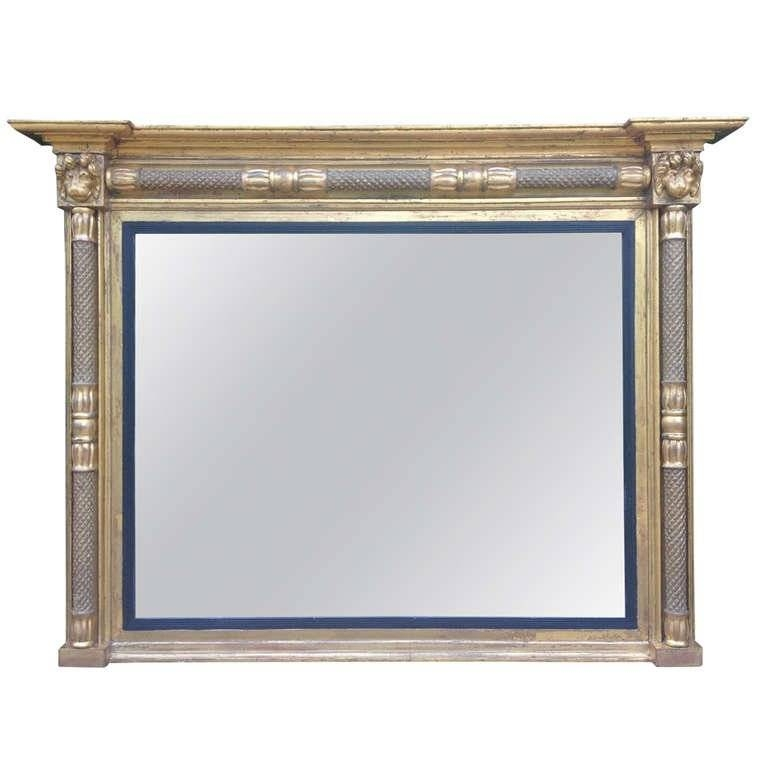 Antique Overmantle Mirror At 1Stdibs Within Antique Overmantle Mirrors (#8 of 20)