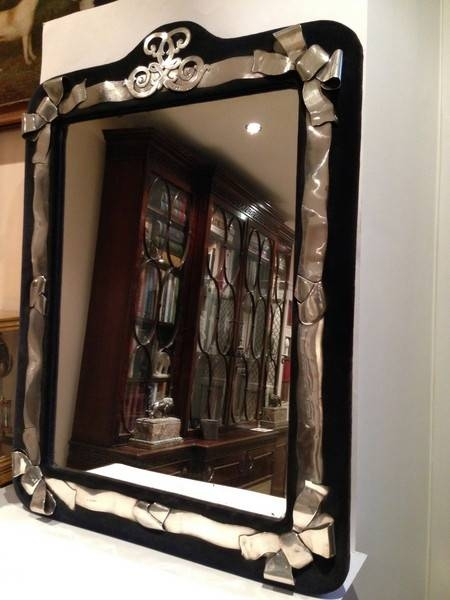 Antique Silver Mirrors – The Uk's Premier Antiques Portal – Online Intended For Large Silver Vintage Mirrors (#9 of 30)