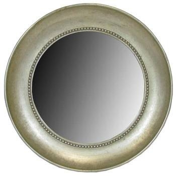 Antique Silver Round Mirror With Concave Molding   Hobby Lobby Within Round Antique Mirrors (View 25 of 30)