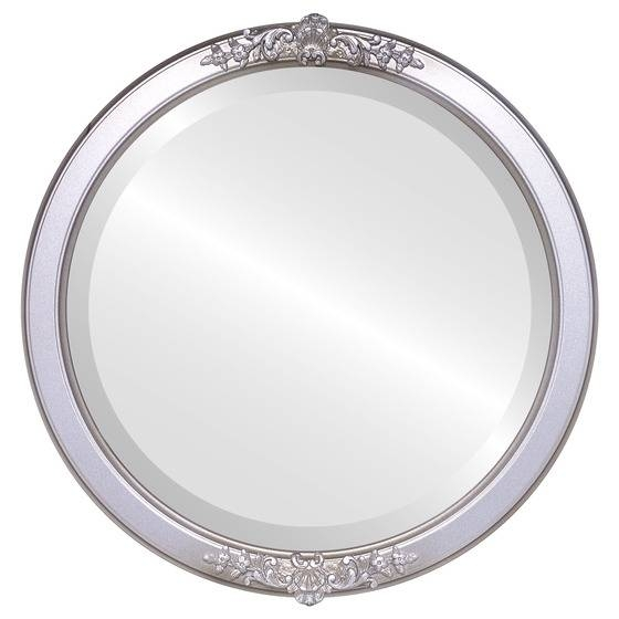 Antique Silver Round Mirrors From $117 | Free Shipping With Regard To Silver Round Mirrors (#8 of 30)