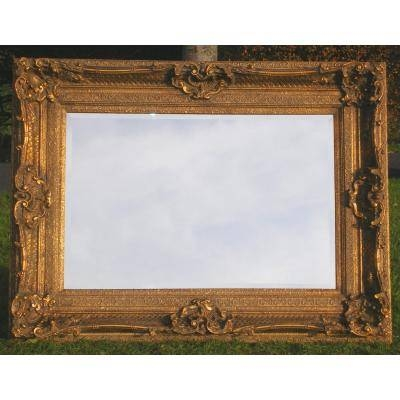 Antique Style Ornate Gold Rococo Mirror – Ayers & Graces Online Intended For Gilt Edged Mirrors (#5 of 20)