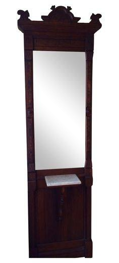 Antique Victorian Mirror | Victorian Mirror, Victorian And Dollhouses Throughout Victorian Standing Mirrors (View 6 of 30)