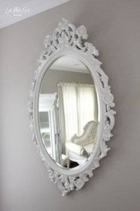 Antique White Oval Mirror – Foter With Antique White Oval Mirrors (View 9 of 20)
