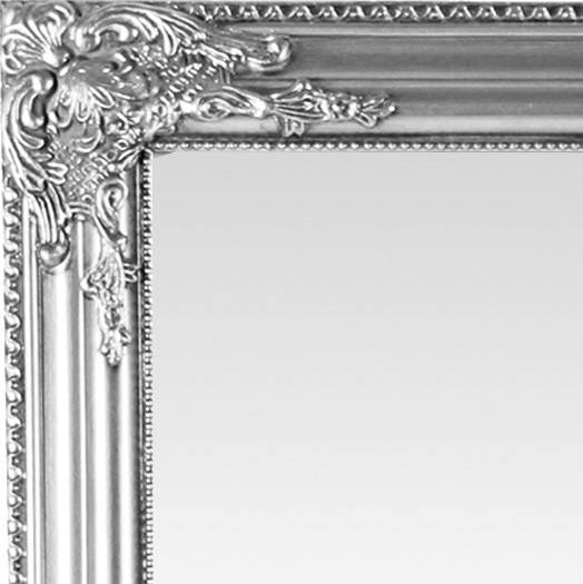 Inspiration about Antique Wooden Framed Mirror (Silver) For Silver Antique Mirrors (#19 of 20)