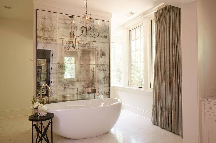 Antiqued French Mirror Design Ideas With French Bathroom Mirrors (#8 of 30)