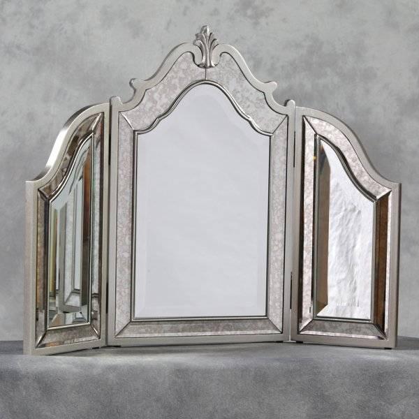 Popular Photo of Venetian Dressing Table Mirrors