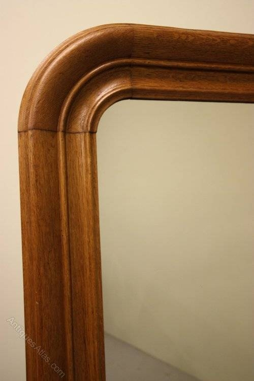 Antiques Atlas – 19Th Century Antique Oak Mirror (#12 of 20)