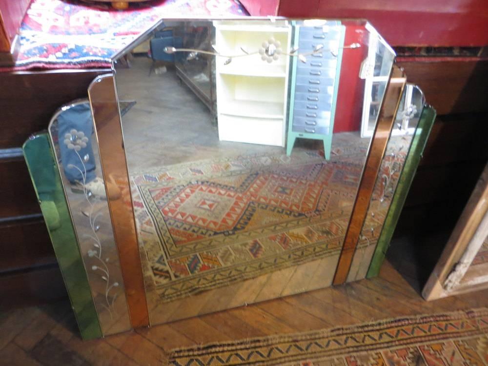 Antiques Atlas – Antique Art Deco Mirror Pertaining To Original Art Deco Mirrors (#6 of 20)