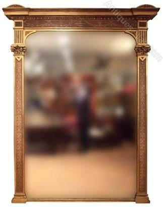 Antiques Atlas – Antique Gilded Mirrors Antique Overmantle Mirrors Inside Antique Overmantle Mirrors (#10 of 20)