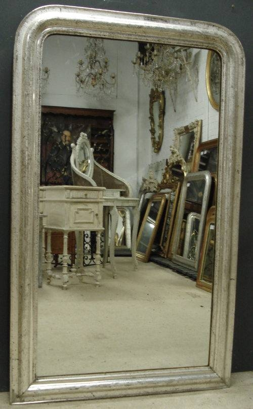 Antiques Atlas – Antique Silver Mirror With Silver Antique Mirrors (#8 of 20)
