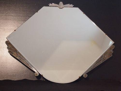 Antiques Atlas – Art Deco 6 Sided Mirror Original With Antique Art Deco Mirrors (#10 of 20)