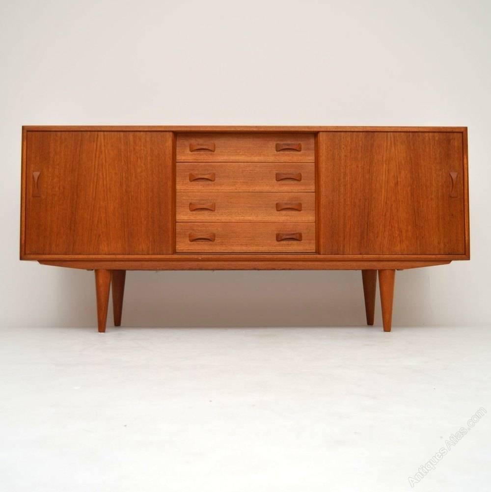 Antiques Atlas – Danish Teak Retro Sideboard Vintage 1960's Inside Retro Sideboards (#1 of 20)