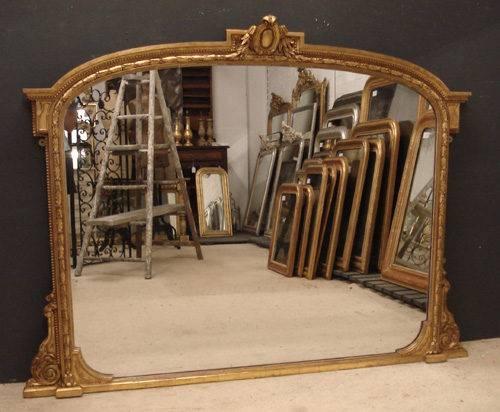 Antiques Atlas – English Overmantle Mirror Regarding Vintage Overmantle Mirrors (View 8 of 20)