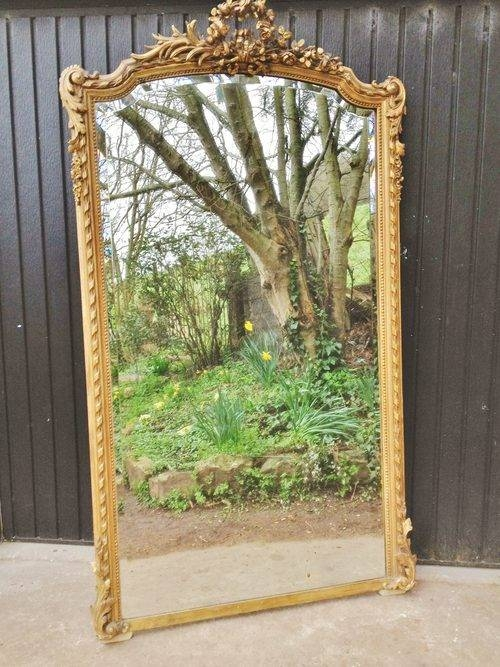 Antiques Atlas – Gilt Mirror Large French Inside French Gilt Mirrors (#14 of 30)
