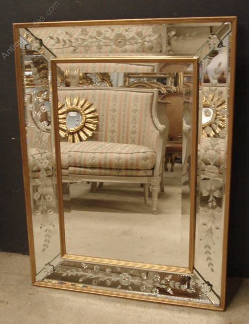 Antiques Atlas – Giltwood Framed Venetian Tray Mirror With Regard To Venetian Tray Mirrors (#14 of 20)