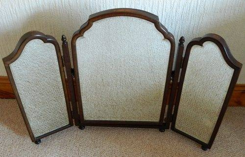Popular Photo of Antique Triple Mirrors