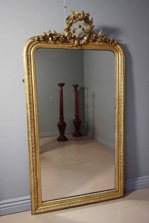Antiques Atlas – Original Antique French Gilt Mirror Regarding French Gilt Mirrors (#16 of 30)