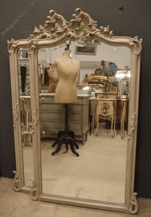 Antiques Atlas – Pair Of Antique French Mirrors Within Antique French Mirrors (View 4 of 20)