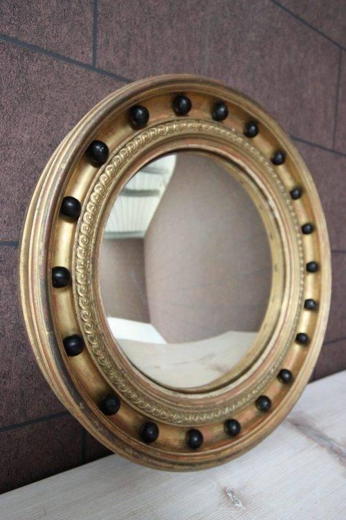 Antiques Atlas – Regency Antique Gilt Convex Mirror Within Decorative Convex Mirrors (#4 of 20)