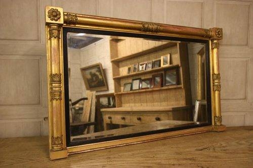 Antiques Atlas – Regency Antique Gilt Wood Overmantle Mirror (#13 of 20)