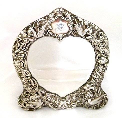 Inspiration about Antiques Atlas – Stunning Antique Silver Mirror William Comyns With Silver Antique Mirrors (#7 of 20)