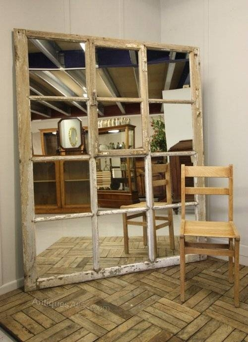 Antiques Atlas – Unusual & Large 19Th Century Antique Mirror For Unusual Large Mirrors (#9 of 20)