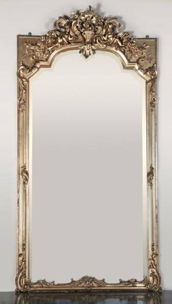 Antiques In Style: Mirrors ~ Reflections Of Beauty | Antiques In Style With Regard To Antique Gilded Mirrors (View 8 of 20)