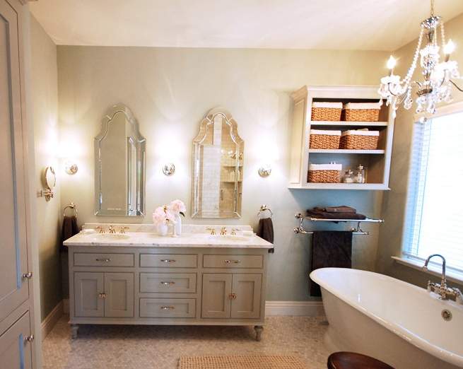 Arch Bathroom Mirrors Design Ideas Regarding Frameless Arched Mirrors (#5 of 20)