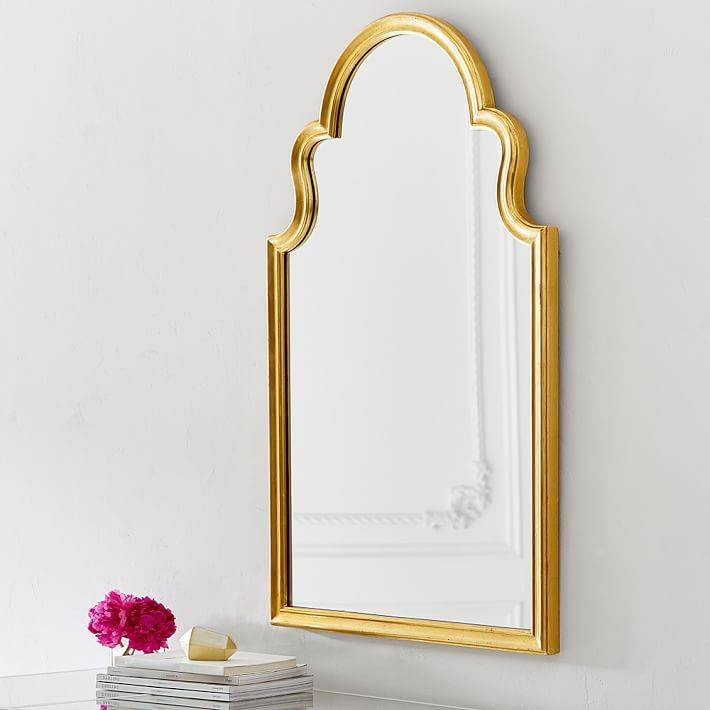 Arch Mirror | Pbteen Pertaining To Gold Arch Mirrors (#3 of 20)