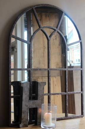 Arched Window Mirror – Foter Intended For Window Arch Mirrors (View 2 of 20)