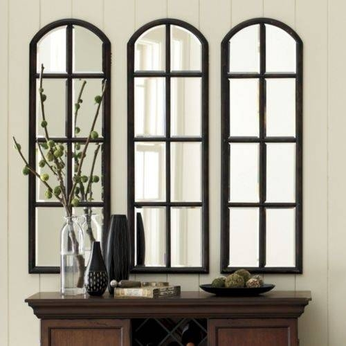 Arched Window Mirror. Large (View 5 of 20)