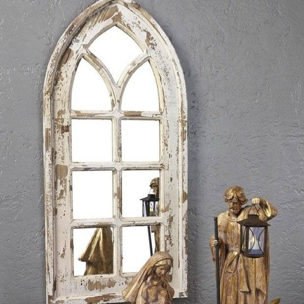Arched Window Mirror | Roselawnlutheran Inside White Arched Window Mirrors (#6 of 20)