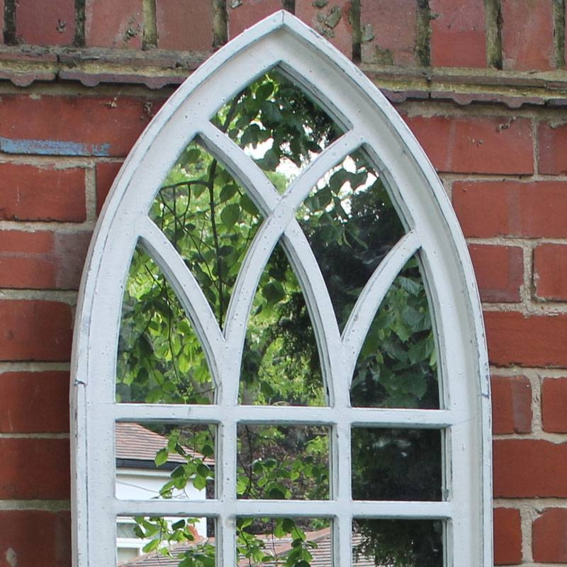 Arched Window Mirror | Roselawnlutheran With White Arched Window Mirrors (#7 of 20)