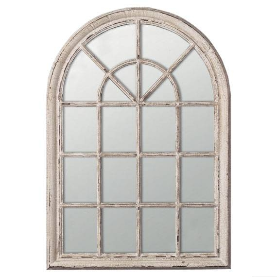 Arched Window Mirror | Roselawnlutheran Within White Arched Window Mirrors (#8 of 20)