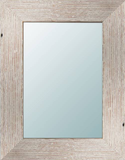 Arianne Light Wooden Mirror – Beach Style – Wall Mirrors  Ptm In Wooden Mirrors (#6 of 30)