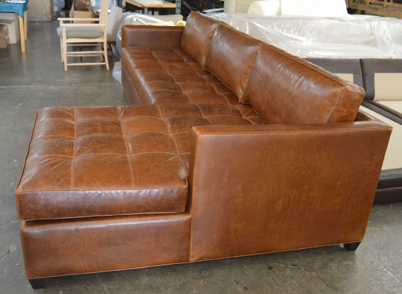 Leather Furniture Traveler Collection: 15 Photo Of Vintage Leather Sectional Sofas