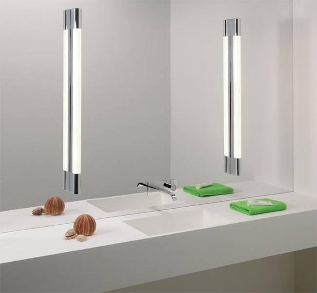 Art Deco Bathroom Mirror With Light | Home Design Ideas Inside Deco Bathroom Mirrors (#7 of 20)