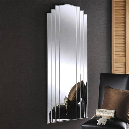 Art Deco Mirror. . Art Deco Mirror (View 4 of 20)