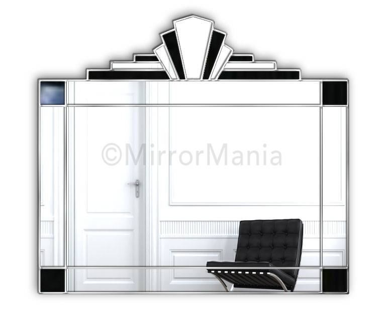 Art Deco Mirror. . Art Deco Mirror (#8 of 20)