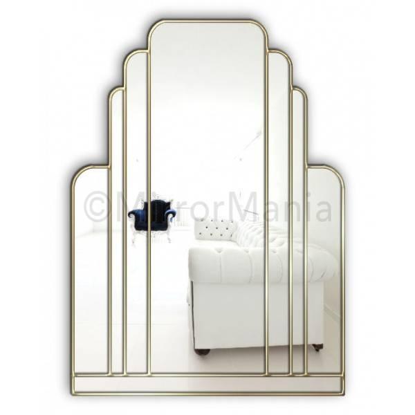 Art Deco Mirror. . Art Deco Mirror (#1 of 20)
