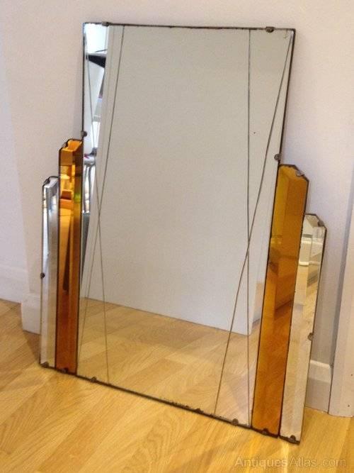 Art Deco Mirror. . Art Deco Mirror (#9 of 20)