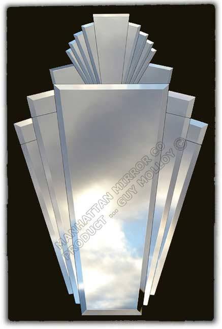 Art Deco Mirror (#10 of 20)