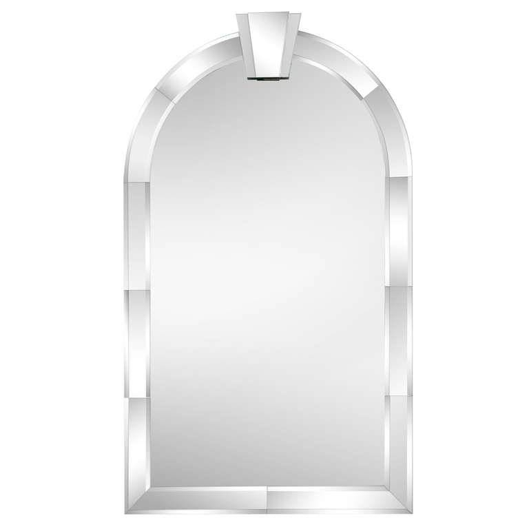 Art Deco Style Mirror In The Manner Of Karl Springer At 1Stdibs For Art Deco Style Mirrors (#7 of 20)