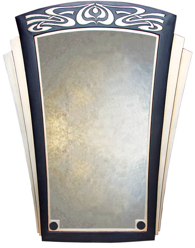 Art Deco Style Mirrors Intended For Art Deco Style Mirrors (#8 of 20)