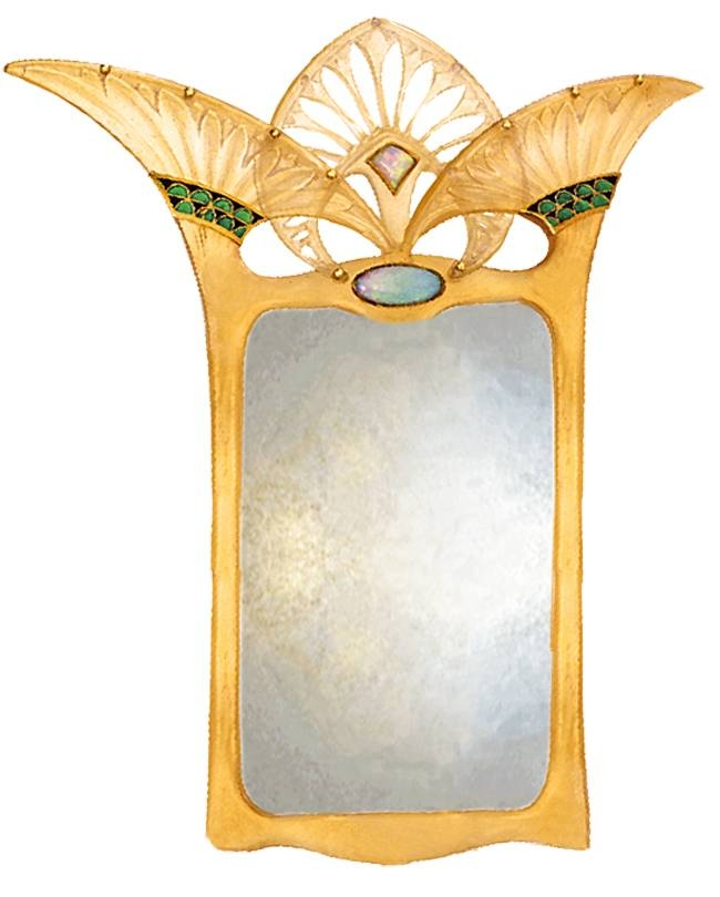 Art Deco Wall Decor For Art Deco Wall Mirrors (#5 of 20)