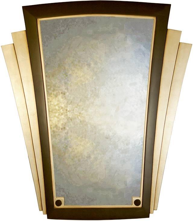 Art Deco Wall Decor Inside Art Deco Mirrors (#2 of 20)