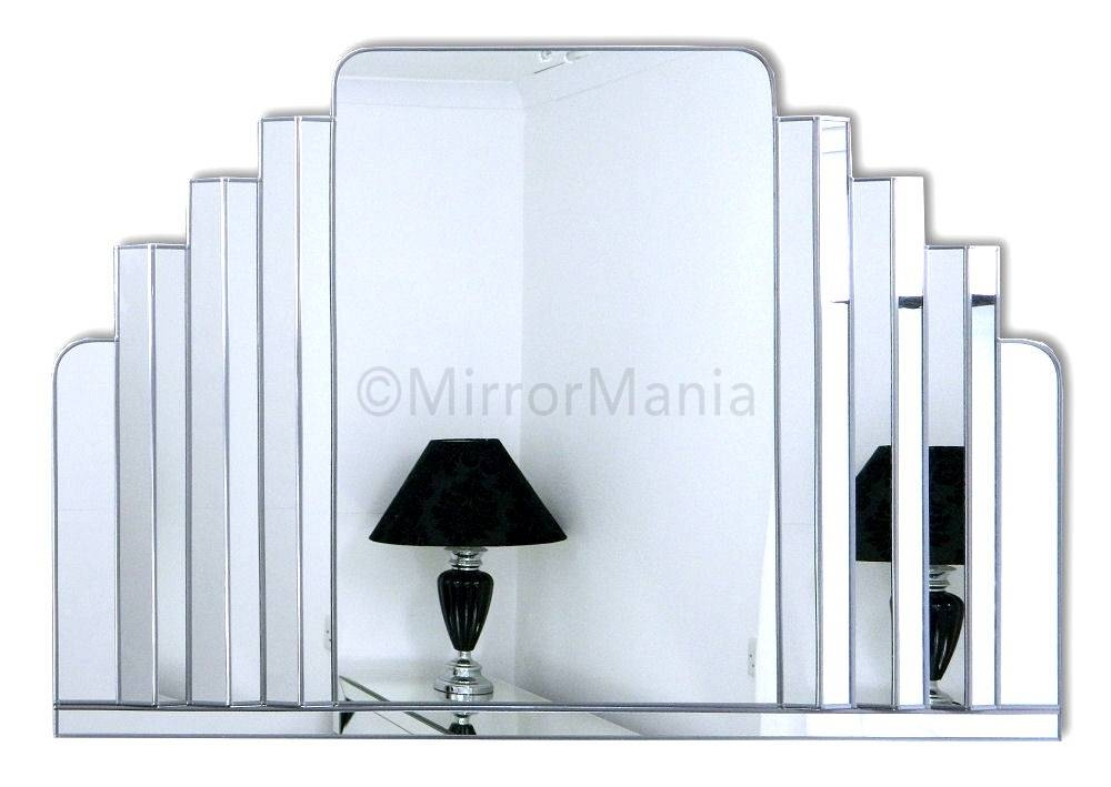 Art Deco Wall Mirror Neat Large Wall Art For Art Wall – Home For Large Art Deco Wall Mirrors (#11 of 20)